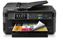 Brand New Epson WF-7610 Wide Format Wireless All-In-One Inkjet Printer