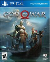 God of War  (Sony PlayStation 4, 2018) Cardboard cover Band New