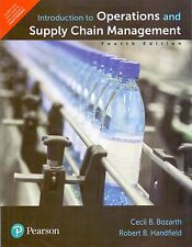 Introduction To Operations And Supply Chain Management,4th ED by Bozarth