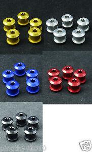 J&L Road ChainRing Bolts/Screws fit SRAM,Shimano,FSA,Truvativ,Raceface,Rotor