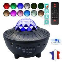 Lampe Projecteur LED Veilleuse Ciel Étoile Enfant Chambre Chevet USB Bluetooth
