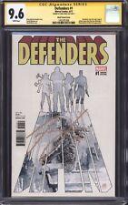 DEFENDERS #1 (David Mack Variant) CGC 9.6 SS / Signed by Finn Jones! Iron Fist!