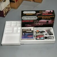NES Nintendo Entertainment System Action Set CIB Refurbished Cleaned Tested NICE
