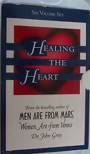 John Gray Heal Your Heart Program Men are From Mars Women from Venus 12 Cassette