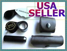 Chelsea Filter, Jewelers Loupe, Spectroscope. Gem Tool