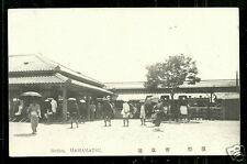 Hamamatsu Railway Station People Shizuoka Japan ca 1910