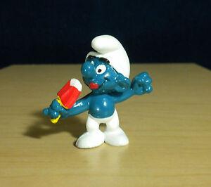 Smurfs 20053 Ice Lolly Smurf Popsicle Ice Cream Vintage Figure PVC Toy Figurine