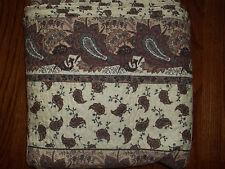 NIP American Traditions Castle Paisley Quilt Set