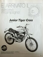 ANNI 70 ADVERTISING PUBBLICITà GARELLI JUNIOR TIGER CROSS