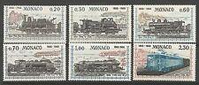 MONACO. 1968. Centenary von Nizza Monaco Eisenbahn Set SG: 914/9. Postfrisch