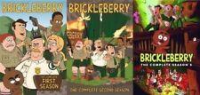 BRICKLEBERRY:The Complete TV Series Seasons 1-2- 3 DVD 1-3 BRAND NEW!