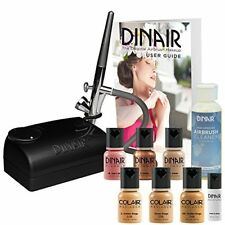 Dinair Bestselling Airbrush Makeup Starter Kit with Medium Shades Foundation Set