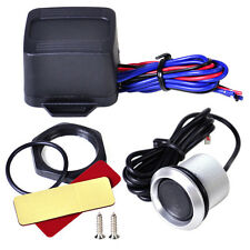 Blue Illumination 12V Ignition Engine Start Button Switch Starter Kit Fit Car