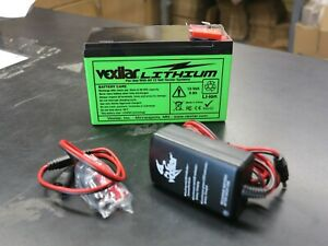 VEXILAR MARINE V-120L VEXILAR LITHIUM ION BATTERY AND CHARGER