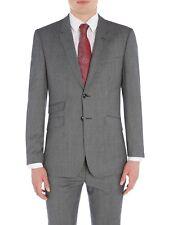 495d5c4a0e844f TED BAKER Grey Dogtooth Wool Jacket Coat Blazer   TB Suit Bag UK38 IT48 NEW