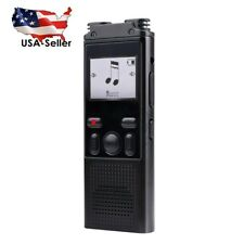 8GB Portable Digital HD Voice Activated Recorder Dictaphone USB MP3 Player