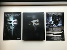 Dishonored 2 Steelbook PC DVD with DLC + Dishonored definitive edition download