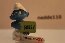 SCHLEICH PEYO PUFFO Sorry #20749 NUOVO