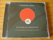 CD Album: Tangerine Dream : Autumn In Hiroshima