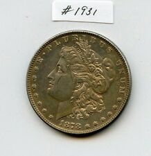 1878 7TF Morgan $1 (#1931) Solid AU, But Cleaned. Carefully Check out the Photos