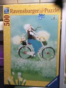 Ravensburger 500 piece puzzles x3