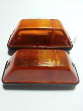 Pair Amber Side Indicator Marker Lights E1 Mark for MERCEDES SPRINTER / 403 Bus