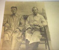 Rare Antique Portrait Automobile / Sporting Coat Men! Real Photo Postcard RPPC!