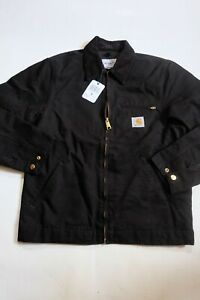 Jacket CARHARTT Detroit Jacket (Black Rinsed) SIZE S