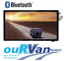"CARAVAN 22"" FULL HD LED TV RV MEDIA BY CAMEC DVD HDMI USB 12v 240v 044695 V3"