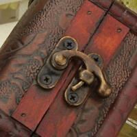 Wooden Vintage Jewelry Pearl Necklace Bracelet Storage Organizer Case Gift Box