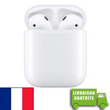 AirPods BOITIER CHARGE FILAIRE écouteurs earphones Air Pods APPLE ORIGINAL Gr. B