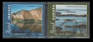 Aland Scott No. 291-292 Foglo & Saltvik views, On Paper
