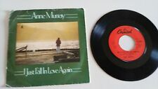 "ANNE MURRAY I JUST FALL IN LOVE AGAIN SINGLE 7"" VINYLE RU EDITION MEGA RARE"
