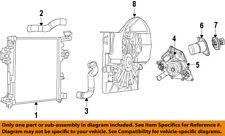 Jeep CHRYSLER OEM 06-10 Grand Cherokee Radiator-Upper Hose 5290720AA
