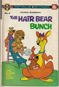 Australian Hanna-Barbera - The Hair Bear Bunch #3 - Murray Comics 1979 84 Pages
