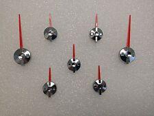 RED/CHROME BALANCED GM SPEC ESCALADE SPEEDOMETER CLUSTER POINTERS NEEDLES SET