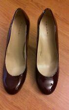 *TAHARI*  Colette , Patent Leather Platform Pump Heels Dress Shoes, Size  9 Med