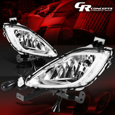 CLEAR LENS BUMPER DRIVING FOG LIGHT LAMPS+SWITCH LH+RH FOR 11-13 ELANTRA MD/UD