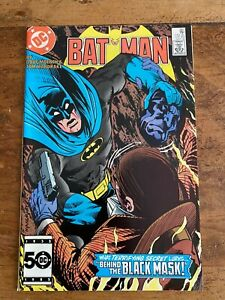 Batman #387 2nd app. of Black Mask DC Comics 1985 COMBINE SHIPPING A
