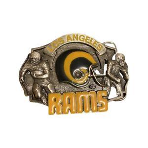 Vintage Los Angeles Rams 1986 Siskiyou Commemorative Belt Buckle  # 1129