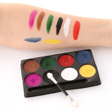 8 Colors Non-toxic Face Body Paints Palette for Kids Adult Halloween Make Up