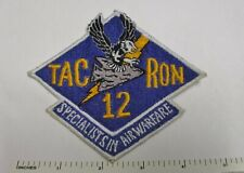 New listing Us Navy Aviation Tacron 12 Patch Vintage Asian Made Original