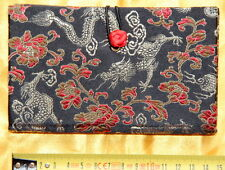 Cahier chinois-Journal Intime-Satin-Chinese Notebook-quaderno cinese-noir-s