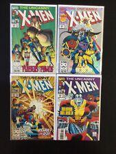 4 Issue Lot - Uncanny X-Men 299, 300, 301, 302