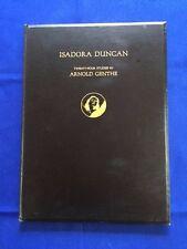 ISADORA DUNCAN: TWENTY-FOUR STUDIES BY ARNOLD GENTHE-1ST ED LAURA GILPIN'S COPY