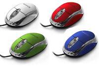 optische USB-Maus beidhändig 3D Kabelgebunden 1000 dpi mini Mouse