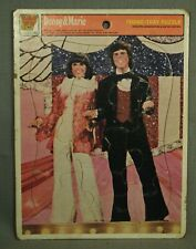 Donny & Marie Osmond vintage frame tray puzzle 1977