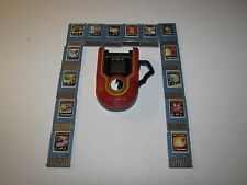 Megaman NT EXE Warrior Protoman Advanced PET with 14 Battle Chips TESTED