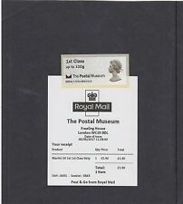 GB 2016  Post & Go Postal Museum Machin Ann single 1st class stamp unmount mint