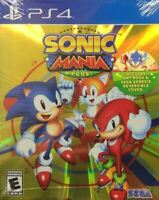 Sonic Mania Plus Launch Edition [Sony PlayStation 4 PS4 SEGA 2 New Characters]